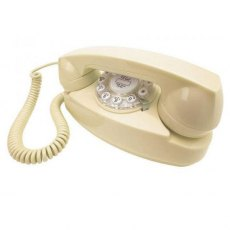 Cream 1950's Princess Phone