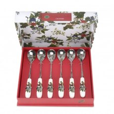 The Holly & The Ivy Tea Spoons (Set of 6)