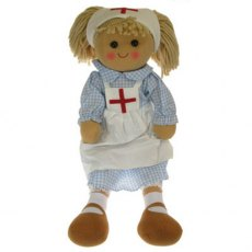 Large Nurse Rag Doll Soft Toy