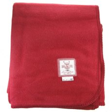 Lexington American Holiday Red Double Faced Blanket