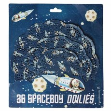 36 Doilies Spaceboy Design