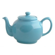 Price & Kensington Brights Blue 6 Cup Teapot