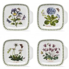 Botanic Garden Set of 4 Canape Dishes