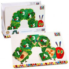 The Very Hungry Caterpillar Peg Jigsaw Puzzle