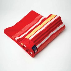 Lexington Seaside Summer Beach Towel: Red Stripe