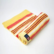 Lexington Seaside Summer Beach Towel: Yellow Strip
