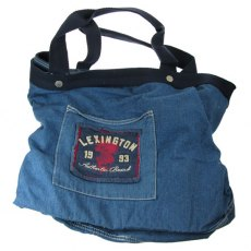 Lexington Summer Denim Tote Bag