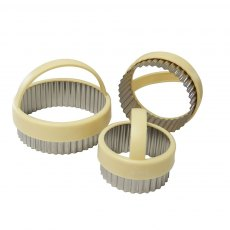 Fluted Pastry Cutters