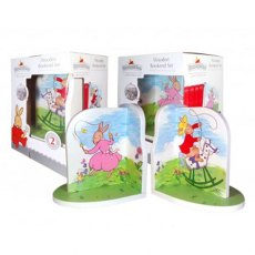 Bunnykins Giftboxed Wooden Bookends