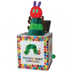 The Very Hungry Caterpillar Jack-in-the-Box