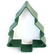 Green Christmas Tree Cutter - Christmas Pastry & Biscuit Cutter
