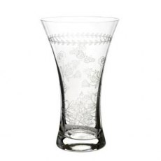 Botanic Garden Medium Crystal Glass Vase
