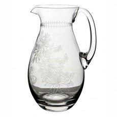 Botanic Garden Crystal Glass Pitcher