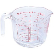 250ml / Half Pint Glass Measuring Jug