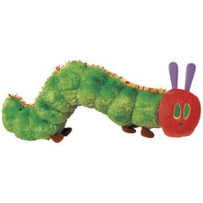 The Very Hungry Caterpillar Beanie Plush Soft Toy