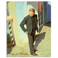 Patrick McGoohan / The Prisoner Canvas Art Print