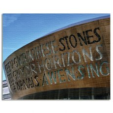 Wales Millennium Centre Cardiff Canvas Art
