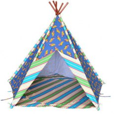 Red Indian Teepee Play Tent