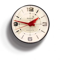 Newgate Bubble Wall Clock - Black