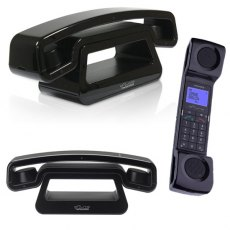 Swissvoice ePure Black Twin Telephone