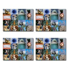 Set of 4 Portmeirion Village Detail Placemats