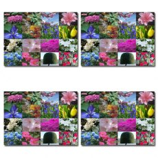 Set of 4 Portmeirion Village Garden Views Placemats