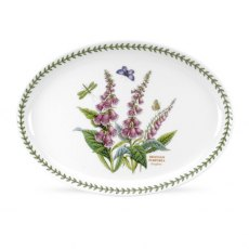 Botanic Garden 13 inch Fire & Ice Oval Steak Platter