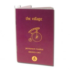 The Prisoner Passport Notebook