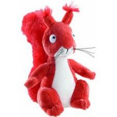 "The Gruffalo 7"" Squirrel Plush Soft Toy"