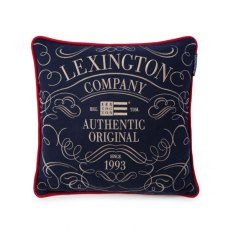 Lexington Navy Blue Authentic Sham / Cushion Cover