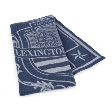 Lexington Blue Shield Wool Blanket