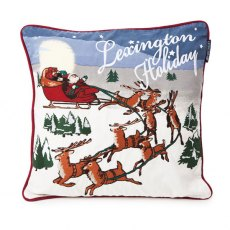 Lexington Holiday Father Christmas Sleigh Ride Sham / Cushion Cover