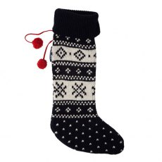 Lexington Holiday Christmas Stocking - Blue