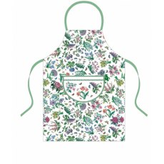 Botanic Garden Chintz Cotton Drill Apron