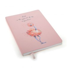 Jellycat Glad To Be Me Pink Notebook