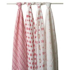 Princess Posie Swaddle - Set of 4