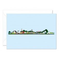 Portmeirion Skyline Greetings Card