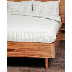 Orla Kiely Tiny Stem Grey Single Duvet Cover