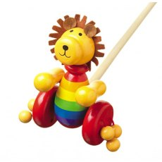 Push-Along Lion