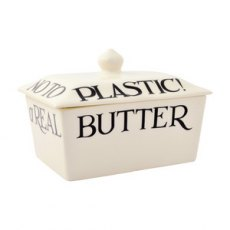 Emma Bridgewater Black Toast Butter Dish