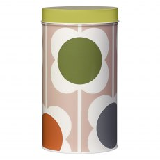 Orla Kiely Abacus Flower Storage Tin Canister