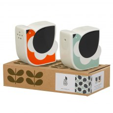 Orla Kiely Frilly Chicken Salt and Pepper Set