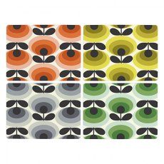 Orla Kiely 70's Oval Flower Placemats