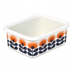 Orla Kiely 70's Oval Flower Orange Large Storage C