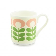 Orla Kiely Flower Oval Stem Green Mug