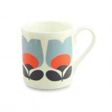 Orla Kiely Tulip Poppy China Mug