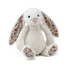 Jellycat Bashful Cream Blossom Bunny Soft Toy