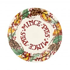 Emma Bridgewater Holly Wreath Mince Pie 8.5' Plate