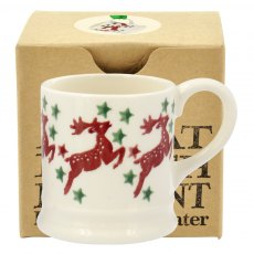 Emma Bridgewater Reindeer Tiny Mug Tree Decoration