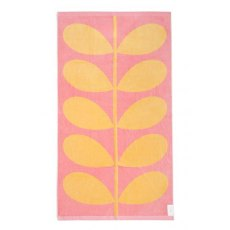 Orla Kiely Beach Towel - Sunlight & Bubblegum Stem